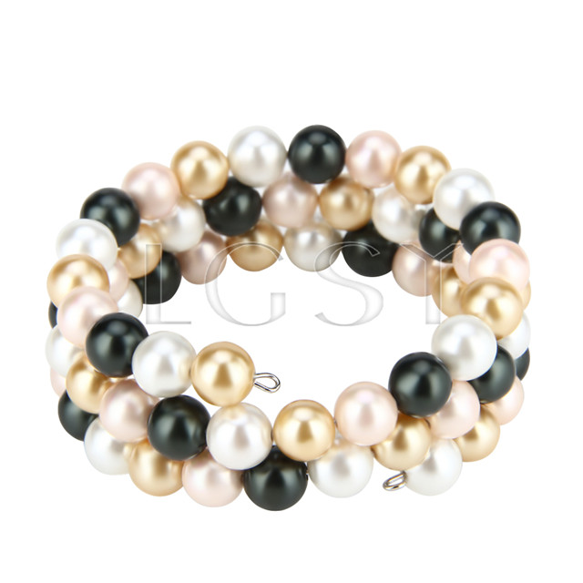 New style Mixed colors Shell pearl adjustable bracelet