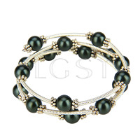 New style Black Shell pearl adjustable bracelet