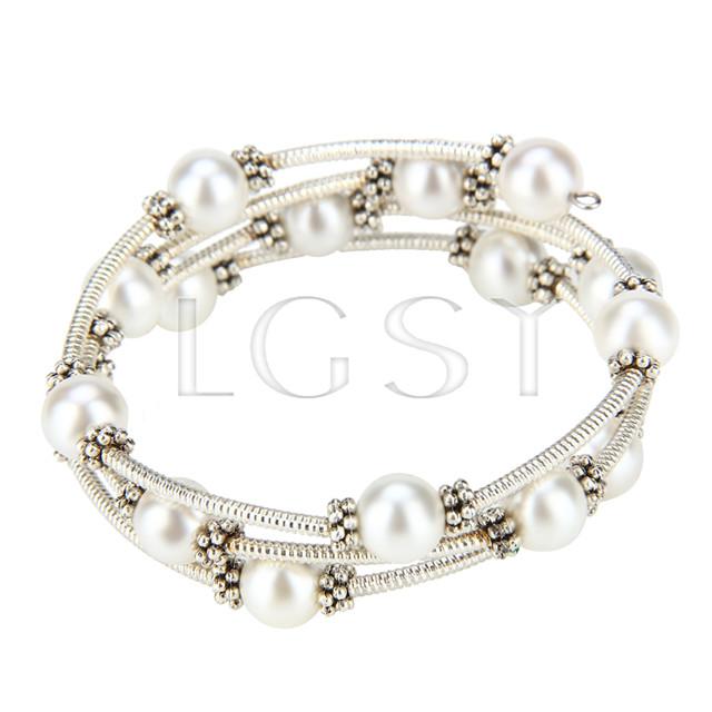 New style White Shell pearl adjustable bracelet