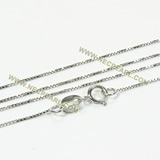 sterling silver rhodium plated chain wholesale