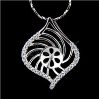 Wholesale latest silver plated Shell Pendant fitting