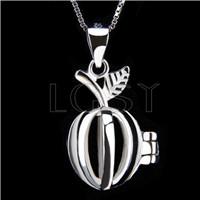 Fashion 925 Sterling Silver Apple Cage Pendant