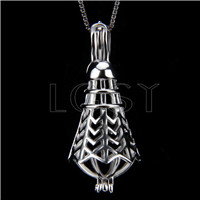 Latest 925 Sterling Silver Badminton Cage Pendant