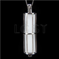 925 Sterling Silver New design of Cylindrical Cage Pendant