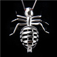 New design 925 Sterling Silver Ann Cage Pendant