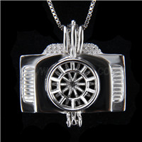 Latest design 925 Sterling Silver Camera Cage Pendant