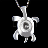 Newest 925 Sterling Silver Turtle Shape Pendant mounting