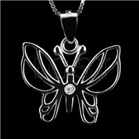 Newest 925 Sterling Silver Butterfly Pendant fitting
