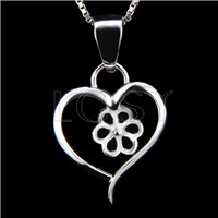 Newest 925 Sterling Silver Heart design Pendant fitting