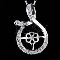 Newest 925 Sterling Silver Mysterious  mark Pendant fitting