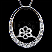 Newest 925 Sterling Silver Loop design Pendant fitting