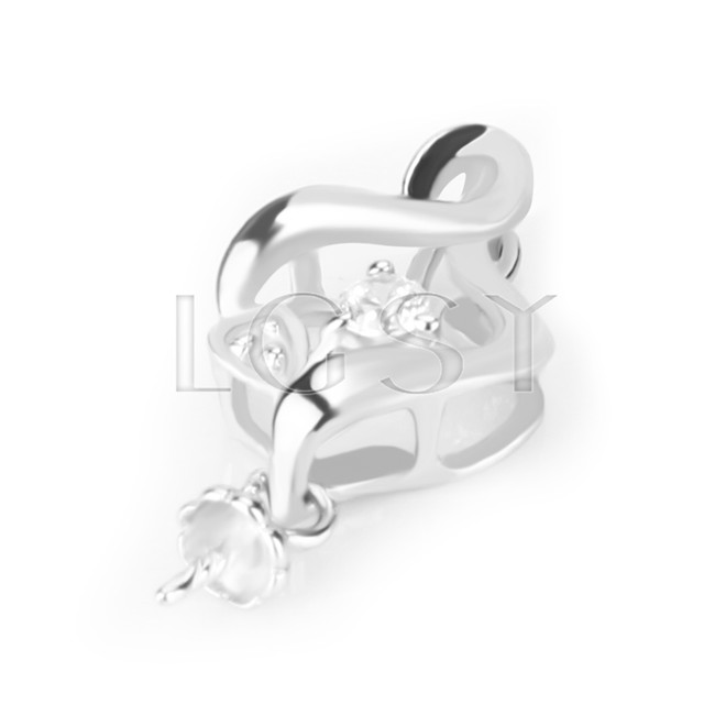 Newest 925 Sterling Fat Eight Pendant fitting