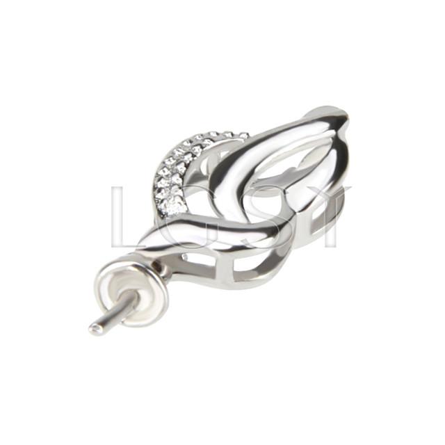 Fashion design 925 simple design Pendant fitting