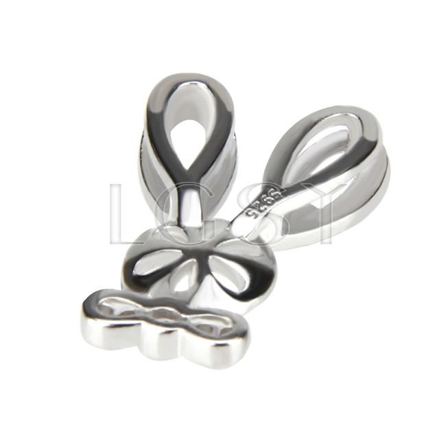Fashion design 925 Mouse Pendant fitting