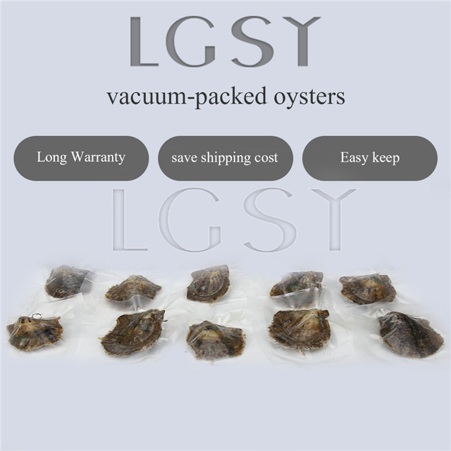 9 mixed colors wholesale 6-8mm saltwater round Akoya pearl oyster 50pcs